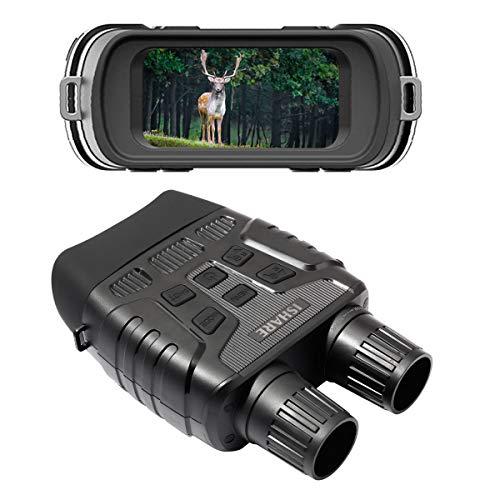 """ToPicks Digitales Nachtsichtgerät Jagd, Fernglas mit Nachtsicht Kamera, Nachtsichtfernglas Erwachsene Ferngläser mit Infrarot, HD 2,31"""" TFT-LCD, 1280x960p Photo/Video Recorder Hunting"""