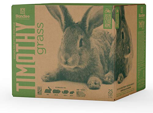 Standlee Hay Company Premium Timothy Grass Hand-Selected Forage, 25 lb Box