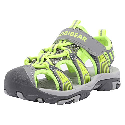 Boys' and Girls' Summer Outdoor Beach Sports Closed-Toe Sandals(Toddler/Little Kid/Big Kid)…