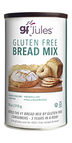 gfJules Gluten Free Sandwich Bread Mix - Voted #1 by GF Consumers, 1.11 lb Can, Pack of 1