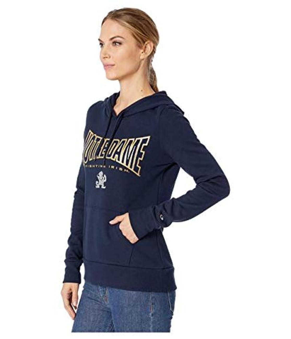 かすかな遵守する検閲Champion College Notre Dame Fighting Irish Eco University Fleece Hoodie 服 【並行輸入品】
