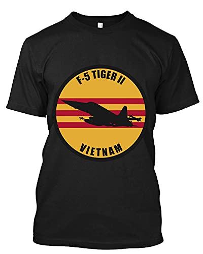 F-5 Tiger 2 Vietnam Active T Shirt Personalized Tee Custom Long Sweatshirt Hoodie Black