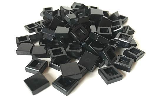 LEGO ® 100 Fliesen 1x1 in schwarz