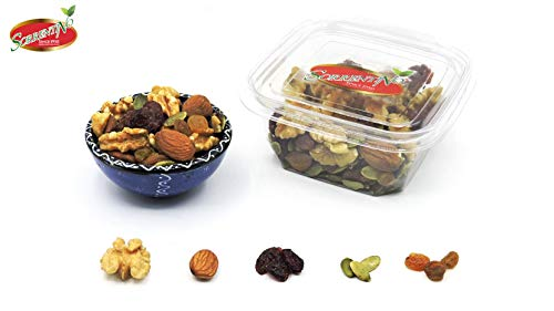 Mix Frutta secca Cruda da .g 600 (3 conf.da 200 in salvafreschezza) Sorrentino Fruttaseccaesalute