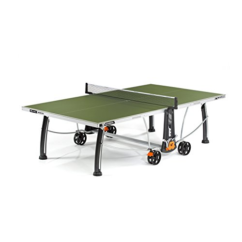 Cornilleau Sport 300S Crossover Mesa de Ping Pong, Unisex Adulto, Verde, Talla única