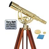 Celestron 22303-cgl 50mm Embajador–Telescopio Refractor Oro
