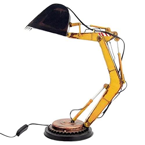 Lámpara De Noche Para El Hogar Con Decoración De Excavadora De Luz Nocturna única Para El Hogar Retroexcavadora