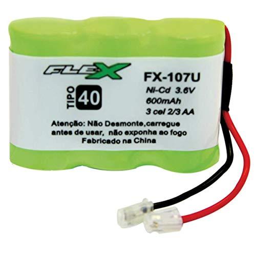Bateria Para Telefone Sem Fio, Newex, 3.6V, 400 mAh, Plug Universal