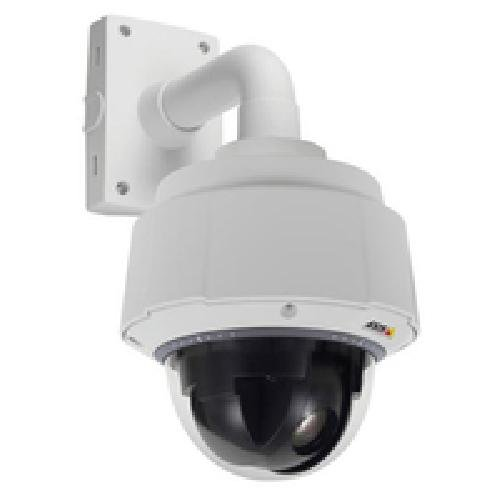 AXIS Q6044-E 50Hz HDTV 720p compliant, outdoor ready, high-speed PTZ dome camera met 30 x optische zoom. HDTV 720p 25 fps (1280 x 720) in H.264 and Motion JPEG, Day en Ni.