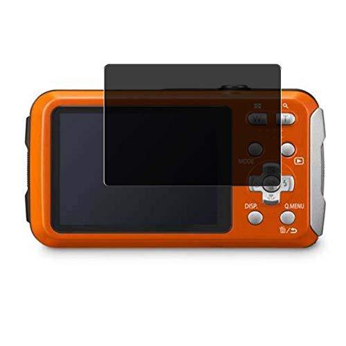 Vaxson Anti Spy Schutzfolie, kompatibel mit Panasonic Lumix DMC-FT30, Displayschutzfolie Privatsphäre Schützen [nicht Panzerglas]