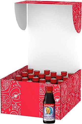 Rotbäckchen Ruhe Kraft Mini Mehrfruchtsafft, süß, fruchtig, nach Kirsche, 125 ml (24er Pack)