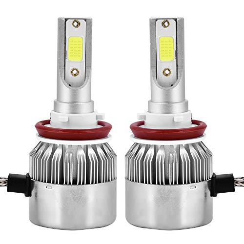 H8/H9/H11 Faros delanteros LED para coche 9005/H10/HB3 36W 6000LM Kit de bombillas para faros delanteros LED Blanco 6000K(H8 / H9 / H11)