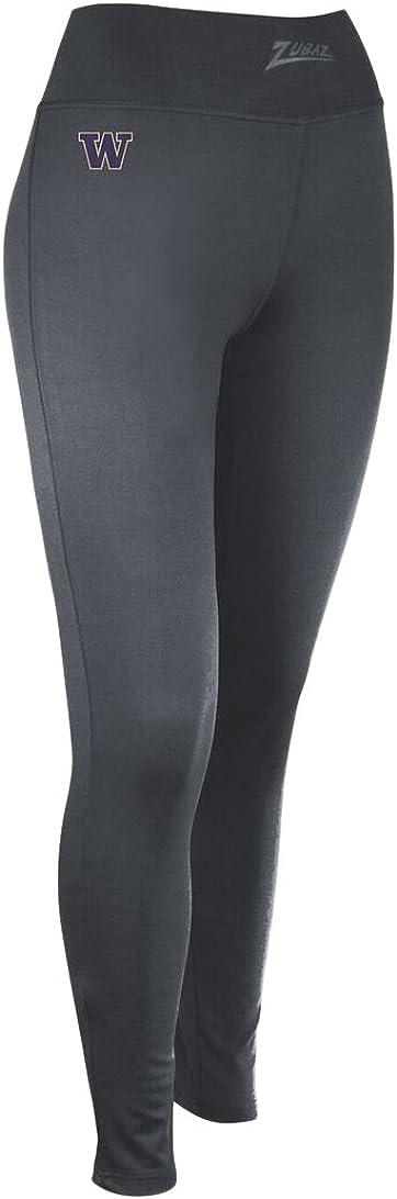 NCAA Zubaz Womens Solid Leggings