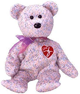 TY 2001 Signature Bear Beanie Baby by TY Warner/Disney