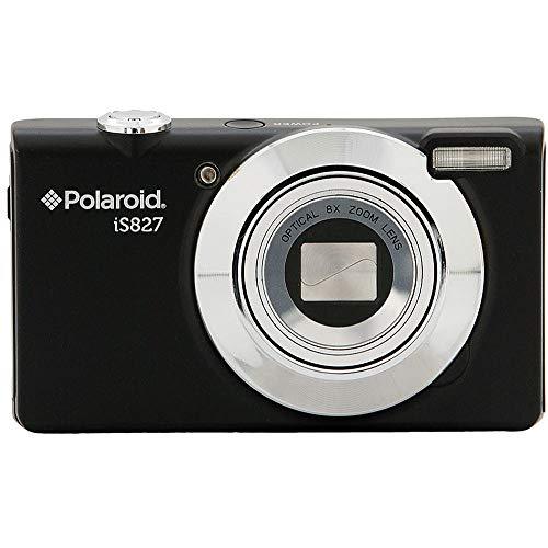 Vivitar Polaroid iS827 16MP 8X Optical Zoom Digital Camera (Black)