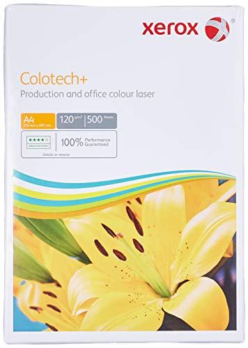 Xerox Colotech Plus 003R98847 Kopierpapier Premium 120 g/m² 500 Blatt pro Ries Format A4 1 Ries weiß