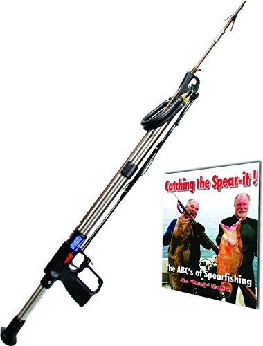 AB Biller Stainless Steel Professional Speargun, 48' with The Abc's of Spearfishing Book.