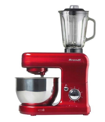 Brandt KM544BR - Robot de cocina, 4 l, 450 W, 50 Hz, color rojo: Amazon.es: Hogar