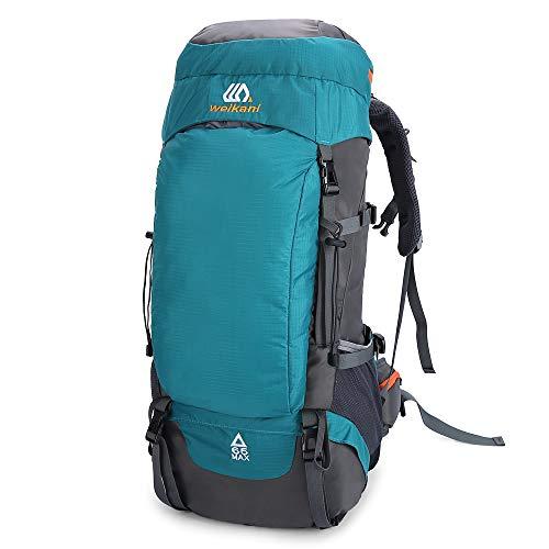 Lixada 65 l waterdichte rugzak voor reizen wandelen outdoor sport voor mannen vrouwen Camping Trekking Touring