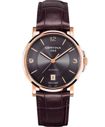 Certina C017.207.36.087.00 - Reloj para Mujeres, Correa de Cuero Color marrón