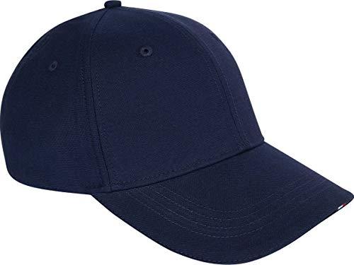 Tommy Hilfiger Herren Recycled Woven Cap Hut, Dunkelblau Chambray, Einheitsgröße