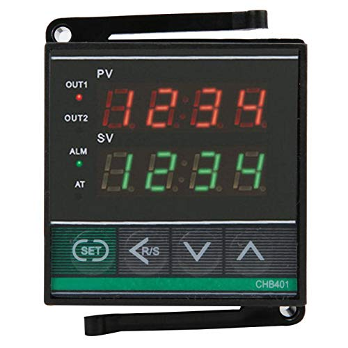Regulador de control de temperatura-termostato Controlador de temperatura de pantalla digital inteligente AC180-240V 0-400 ℃