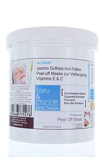 Veana bleu & Marine profumato Jasmine Rice Anti Wrinkle Prevention Peel Off Maschera, 1er Pack (1X 400G)