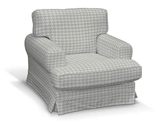 Dekoria Ekeskog Sesselbezug Husse passend für IKEA Modell Ekesgog grau