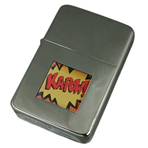 Select Gifts Gravur Feuerzeug Cartoon Batman Kapow