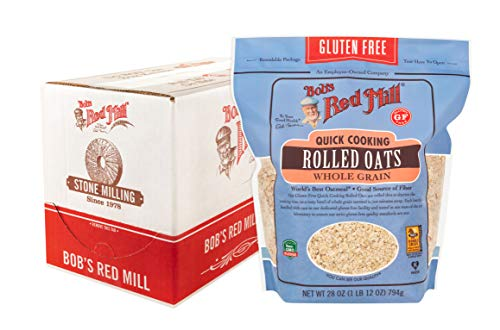 Gluten Free Quick Cooking Rolled Oats, 28 Ounce (Pack of 4)