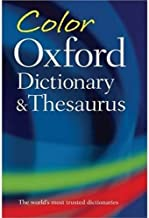 Color Oxford Dictionary & Thesaurus