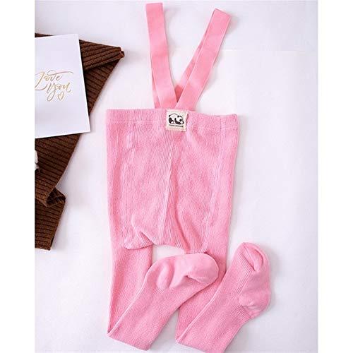 GLBS Toddler Enfants Mode Bébé Collants Garçon Loisirs Coton Nouveau-né Collants Bracelet Maintien Au Chaud Automne Hiver Fille Leggings for L'âge 0-2 Ans (Color Pink, Kid Size : 24M)