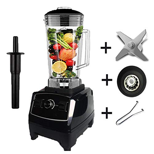 Best Motor commercial professional smoothies power blender food mixer processor,black full parts1