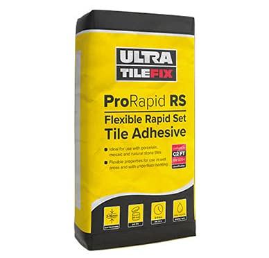 Adhesivo flexible para pared y baldosas UltraTileFix ProRapid RS White 20kg