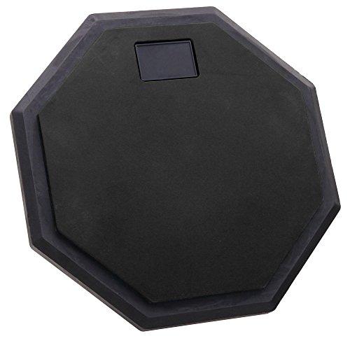 "XDrum TF-8 TrueFeel Practice Pad 8"" (Übungspad, Trainingspad, Spezialgummi-Oberfläche, sehr leise, Gewinde M8 für Stativ) schwarz"