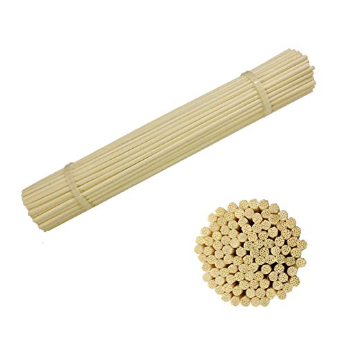 AIWANT Reed Diffuser Sticks, 8 Inch (20CM) 100 Pieces Natural Aroma Reed Stick Refill