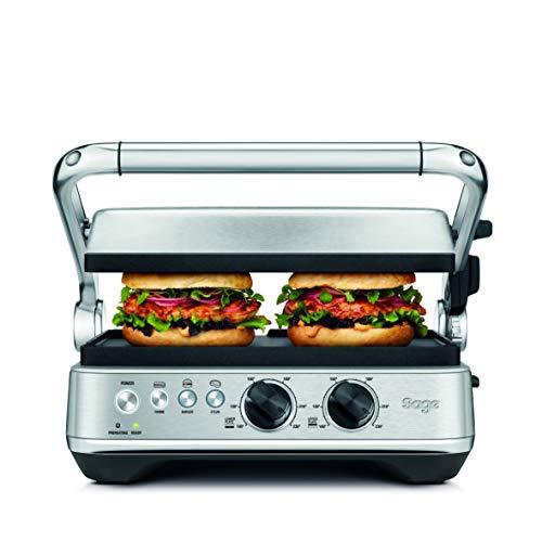 Sage Appliances SGR700 Grill, Gebürstetes Edelstahl