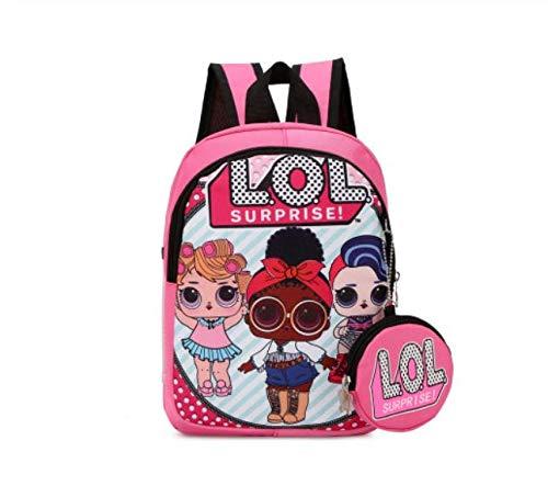 Acessório Zuunky Compatível com Mochila Bolsa Boneca Lol Doll Infantil Surprise Original (MODELO 1)
