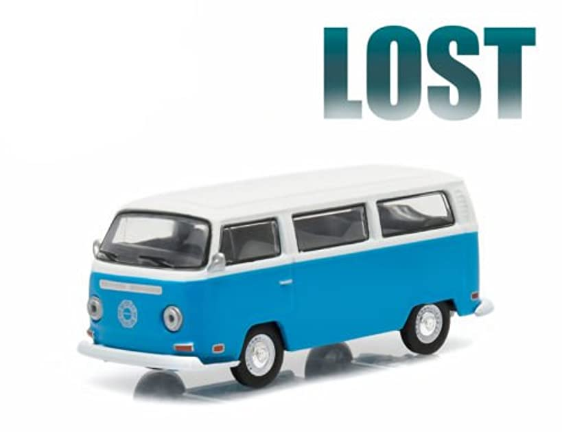 1971 VOLKSWAGEN TYPE 2 BUS (T2B) DARMA VAN from the classic television show LOST GL Hollywood Series 12 2016 Greenlight Collectibles Limited Edition 1:64 Scale Die Cast Vehicle