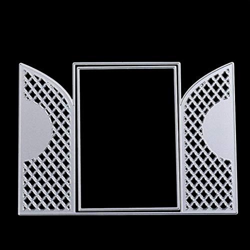 Dies for Die Cutting Machines, Mikey Store Dragonfly Heart Cutting Dies Handmade DIY Stencils Scrapbooking Album Paper Card Craft (Dragonfly)
