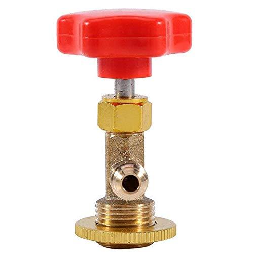 Adoolla R134a Dosenöffner, Wasserhahn, Wasserhahn, für Auto, Klimaanlage, Kältemittel, Dosenventil, Flaschenöffner.