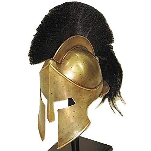 AnNafi Medieval Armour King Leonidas Greek Spartan Helmet |300 Roman Helmet| Ancient Cosplay Costumes