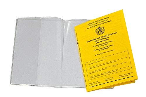 Impfausweis-Umschlag, Impfpass-Umschlag, Umschlag für den Internationalen Impfausweis | aus Vinyl-WF genormt, 1-teilig ohne Impfausweis