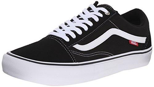 Vans Unisex UA Old Skool Sneaker, Black White, 39 EU