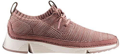 Clarks Damen Tri Native. Sneaker, Beige (Mauve), 40 EU