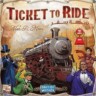 Ticket to Ride (English/Arabic)
