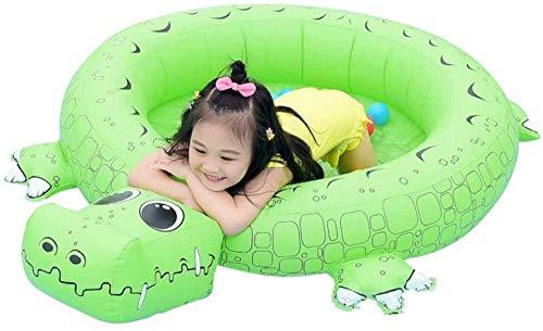 Opblaasbaar zwembad voor kinderen, Dinosaurus zwembadsproeier Waterspeelgoed, maat 140cm, Kinderzwembad voor 6 maanden +
