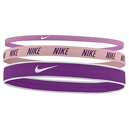 Nike Haarbänder verschiedener Breite 3 Stück - violett