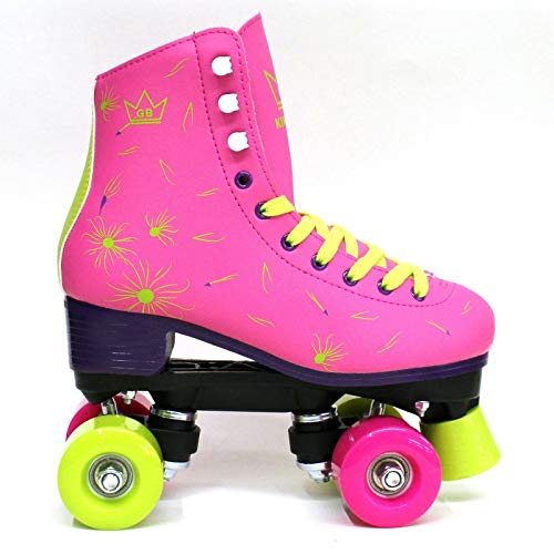 Venus Patines de Ruedas Kingdom GB Quad Wheels Rosado señoras 38 EU