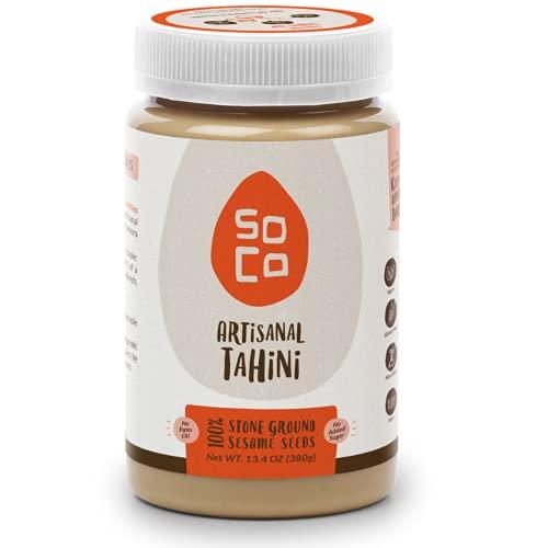 SoCo All Natural Sesame Tahini, Slow Roasted